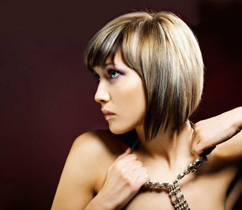 Hairstyle And Color : Two Tone Hair Color Ideas For Short Hairstyles Poonpo