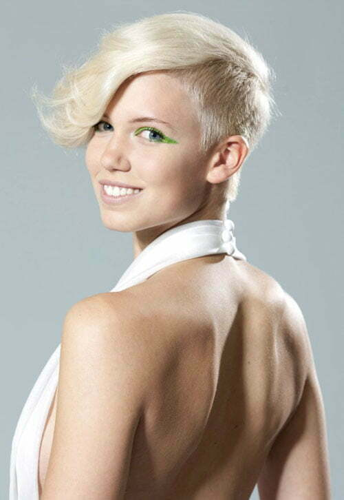 ... shaved sides jpg pixie haircut with shaved sides short hairstyles