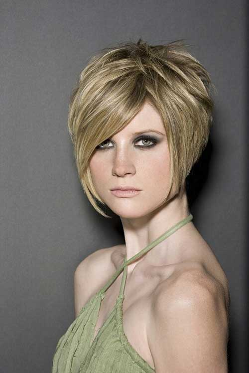 Layered girl haircuts