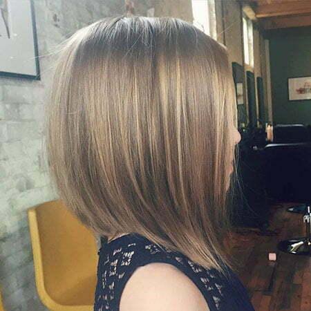 Cute Short Haircut for Girls, Bob Long Layered Girls