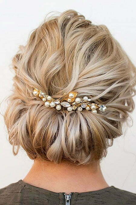 20 Wedding Hairstyles for Short Hair | Short Hairstyles 2017 - 2018 ...
