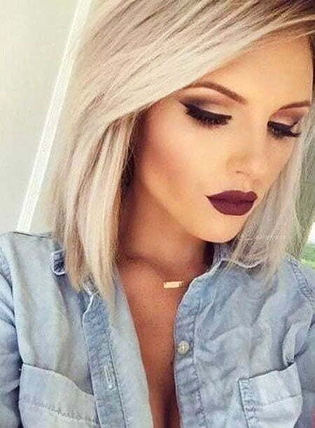 Blonde Makeup Short Ideas