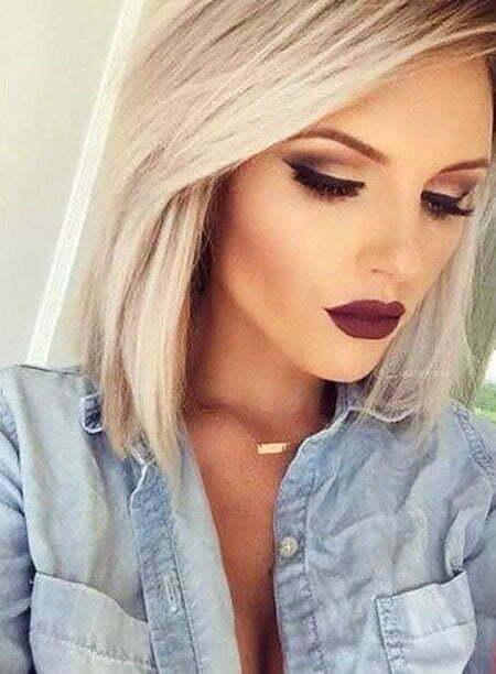 Blonde Makeup Short Ideas