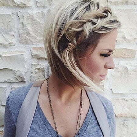 Short Messy Braided Braid