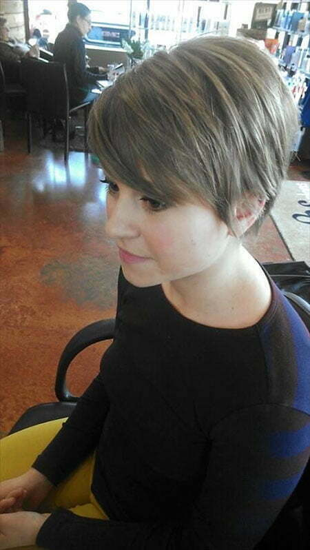 Pixie Short Layered Fine