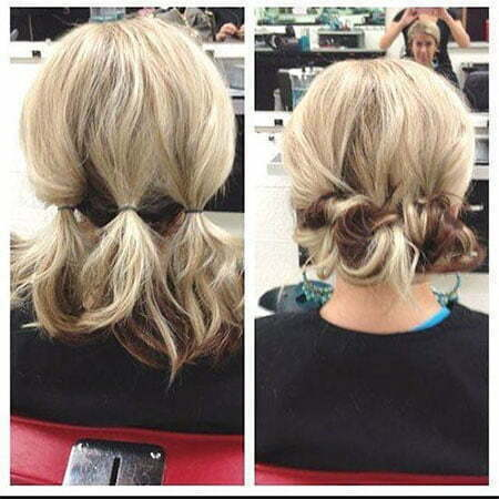 Length Updo Easy Updos