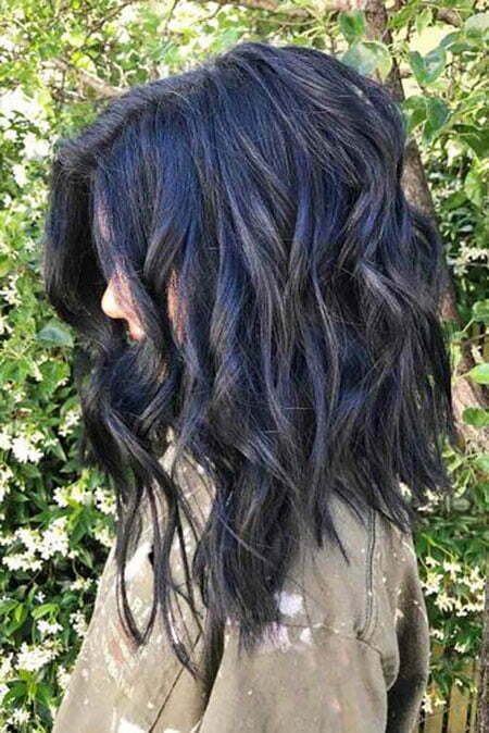 Wavy Medium Length Layered