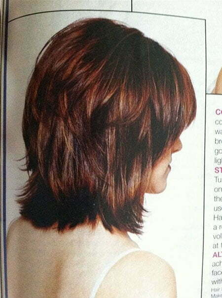 Bob Shag Medium Layered