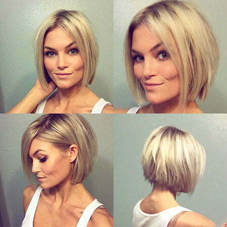 Short Bob Blonde Pixie