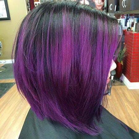 Purple Ombre Color De