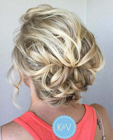 Updo Braided Wedding Low