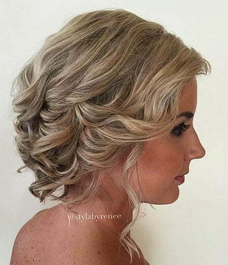 Wedding Updo Curly Updos