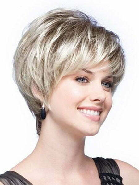 Short Women Wig Synthetic