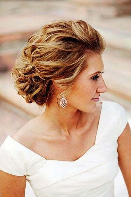 Wedding Updo Short Mother