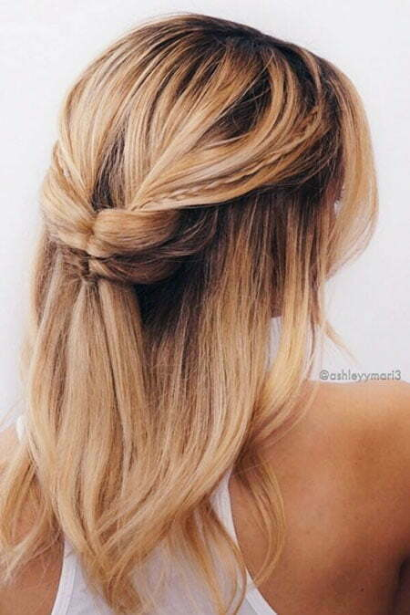 Summer Bow Wedding Updo