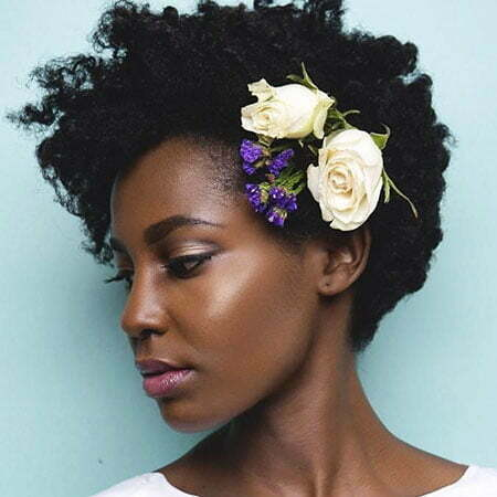 Wedding Black Natural Afro