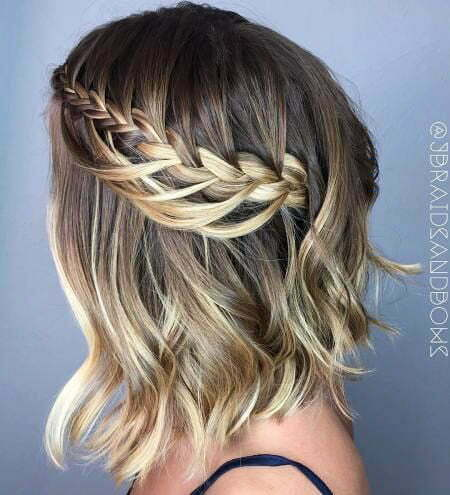 Braid Crown Braided Bob