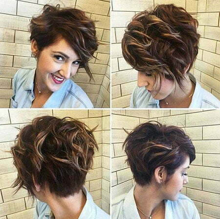 Short Women Wavy Updo