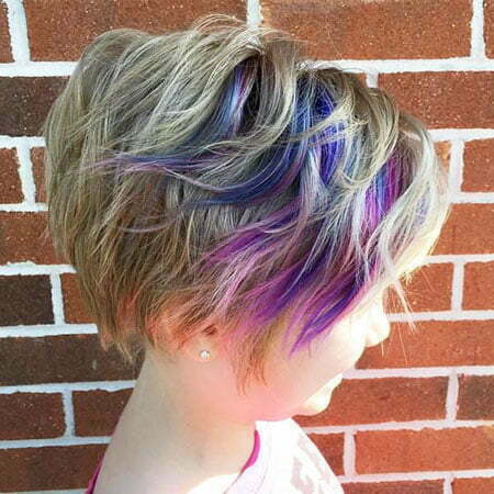 Purple Pixie Peekaboo Little