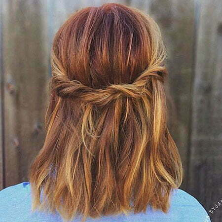 Simple Fall Color Braid