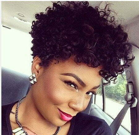 Natural Curly Black Women