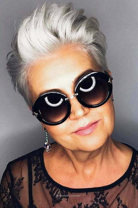 2018 Hairtyles for Women, Women Sunglasses Sexy Over