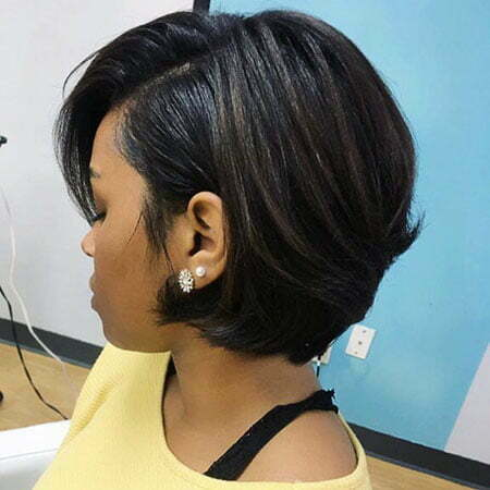 Pixie Haircut, Bob American Pixie Brunette