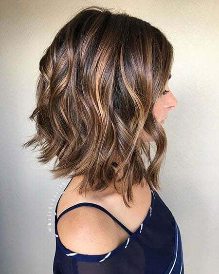 Caramel Hair Color, Bob Trendy Short Longer