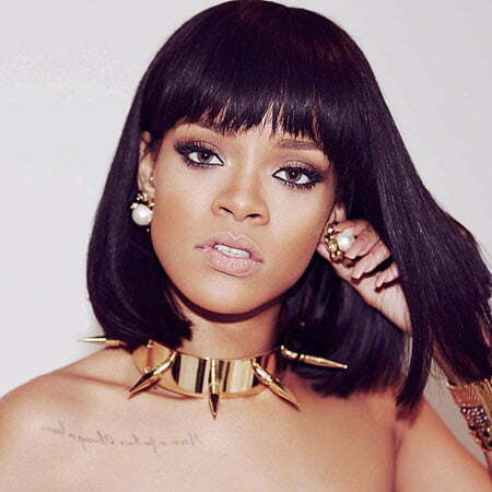 Bob Hairtyle, Rihanna Wig Women Washington