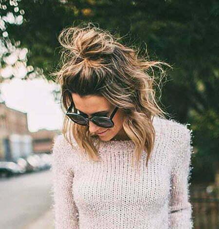 Cute Bun Hair, Short Cute Bun Top