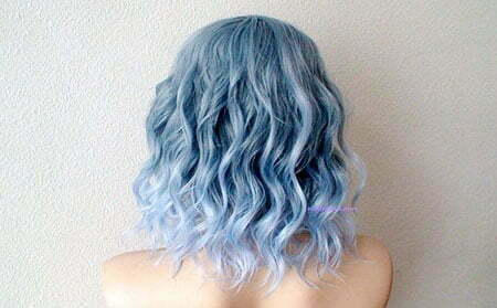 Blue Ombre Wavy Pastel