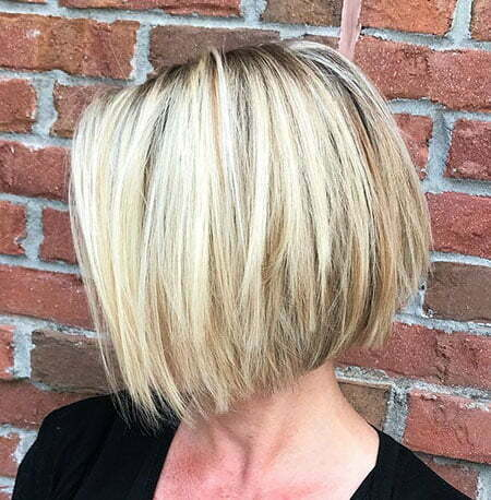 Bob Blonde Balayage Straight