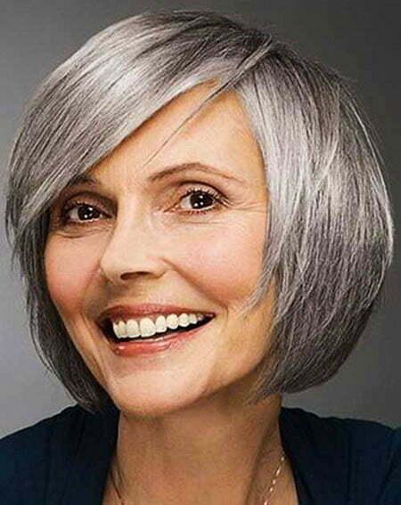 18 Short Bob Haircuts For Older Women