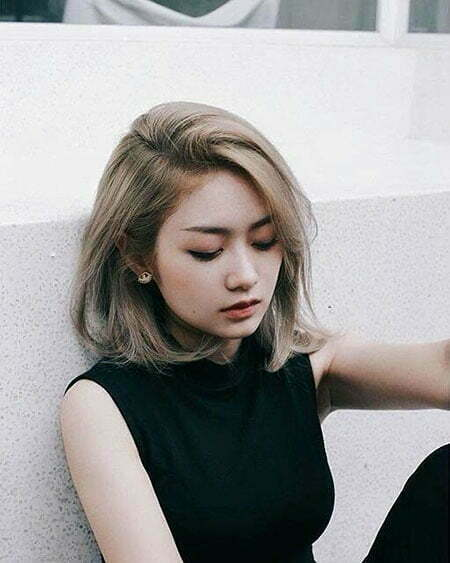 Cute Hair, Korean Some Curly Bob
