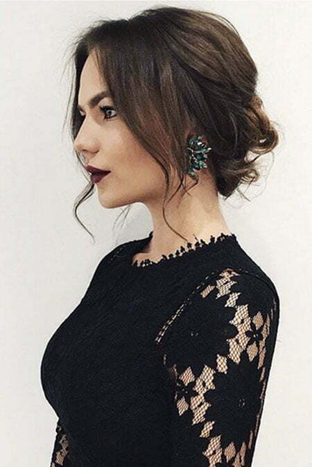 Prom Hairtyle, Selena Medium Wedding Updo