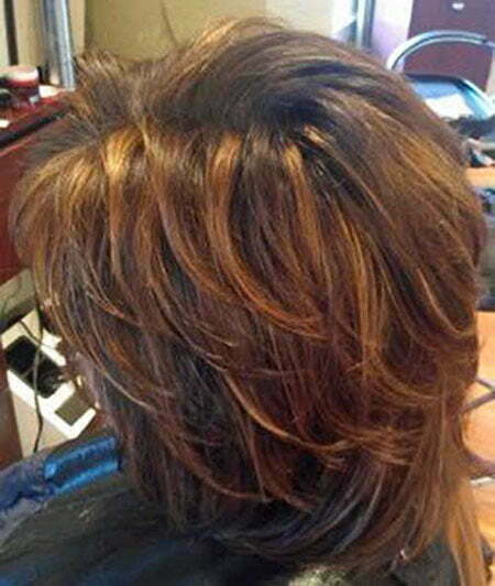Brown Hair Color, Long Layers Layer Layered