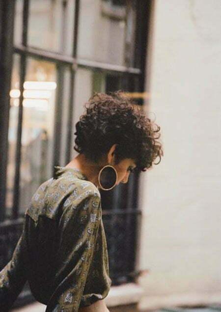 Layered Haircut, Stacked Natural
