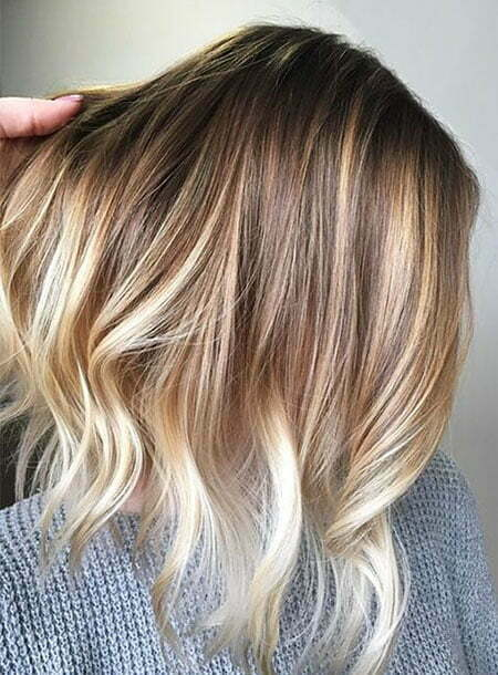 Pretty Hairtyle, Blonde Color Balayage Pretty