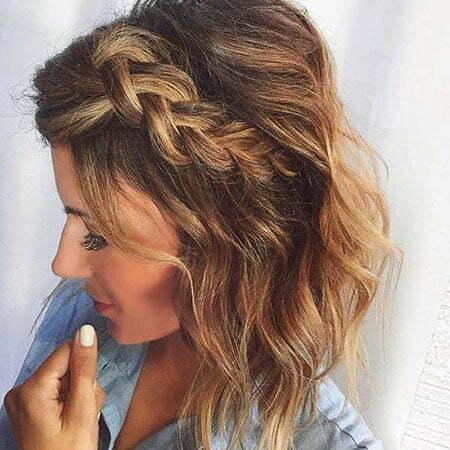 Medium Length Hairtyle, Wavy Medium Length Without