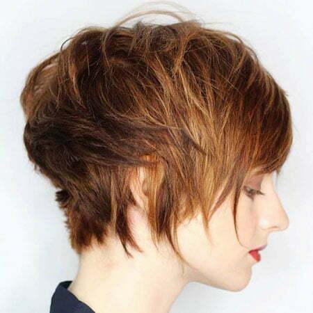 Choppy Hair, Short Pixie Choppy Model