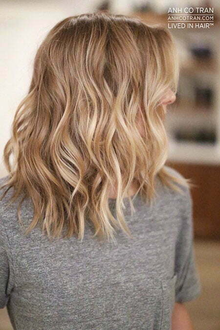 Shoulder Length Hair, Blonde Color Ideas Shoulder