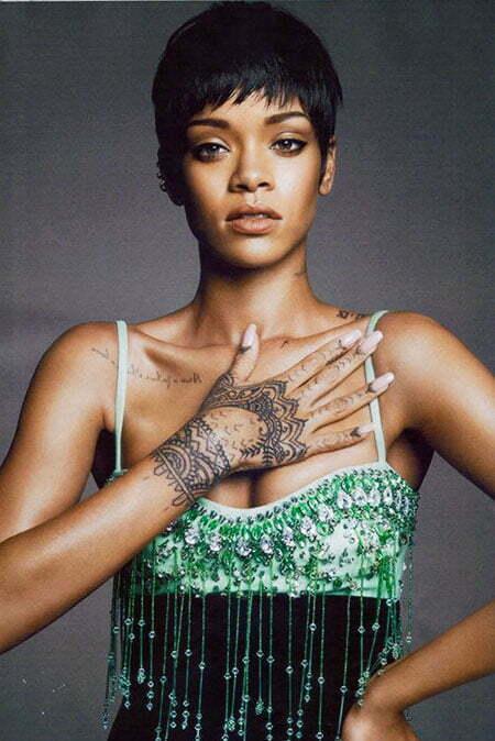Rihanna Vogue Short Riri