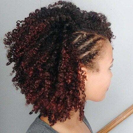 Natural Curly Black Twists