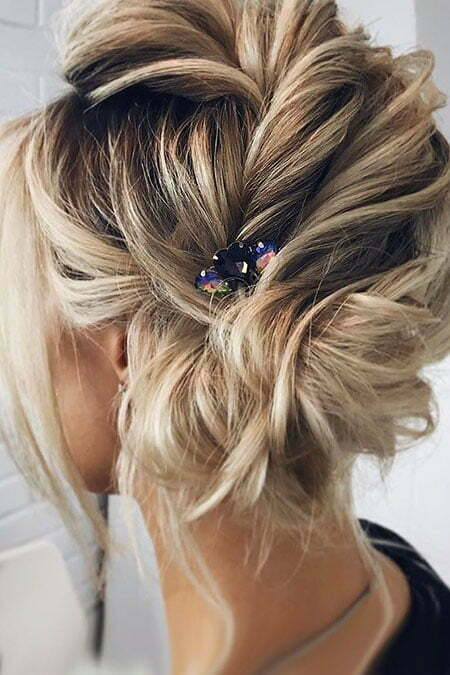 Wedding Updo Length Medium
