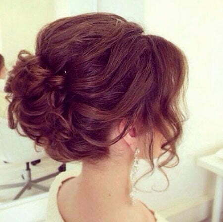 Wedding Prom Updo Without