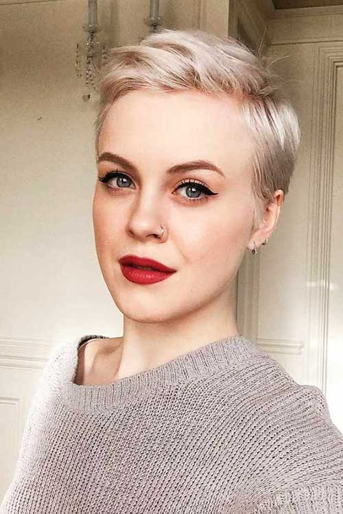 2018 Trend Short Haircuts For Fine Hair