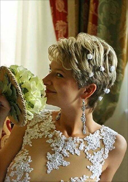 23 bridal hairstyles for short hair